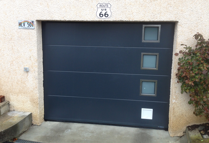 Porte de garage sectionnelle Jean Pache & Fils