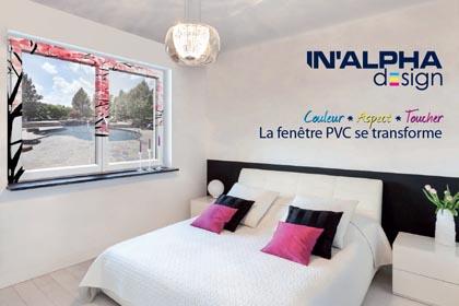 Fenetre Inalpha Design pour Jean Pache & Fils