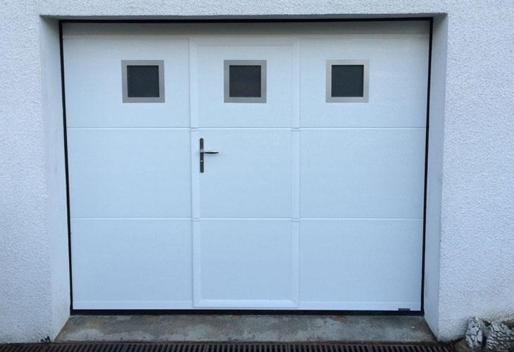 Portes De Garage PVC En Neuf Ou Rénovation Aix Les Bains Savoie - Porte de garage sectionnelle avec prix porte de service pvc