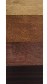 Finition plaxage standard couleur bois