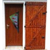 Porte PVC realisation Jean Pache & Fils